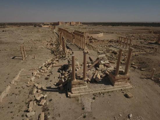 文物古迹的破坏情况_伦敦恐袭之后 那些惨遭ISIS破坏的文化古迹_中证网